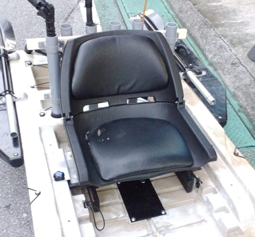 2馬力ハンターカヤック 回転椅子